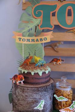 Compleanno a Tema Dinosauri