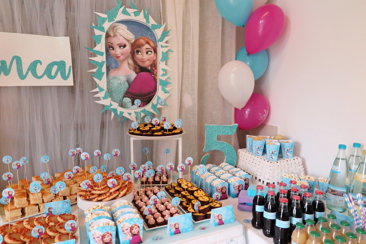 Compleanno a Tema Frozen