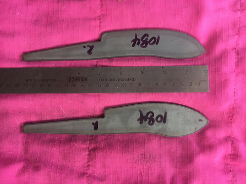 Skinning/Butchering Knife Blanks - Two styles.