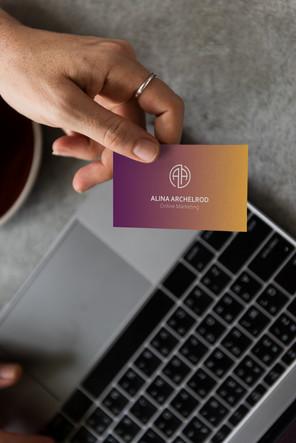 Alina Archelrod Business Cards_Online Ma