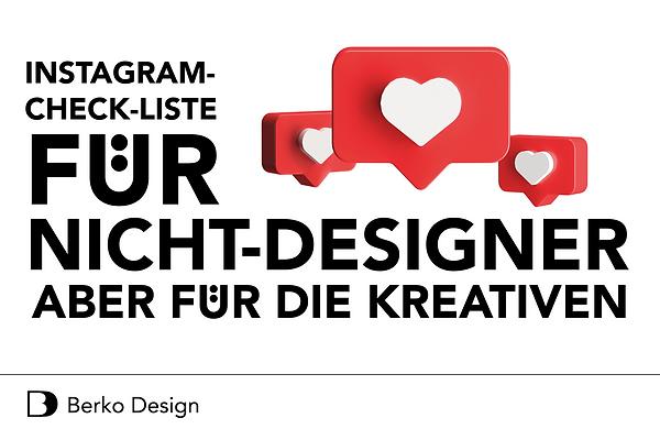 IG-Checkliste von Berko Design