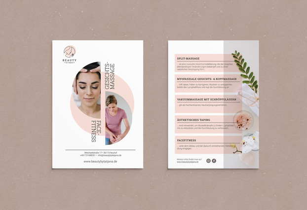 Beauty by Tatjana_Logo Design_Visitenkar
