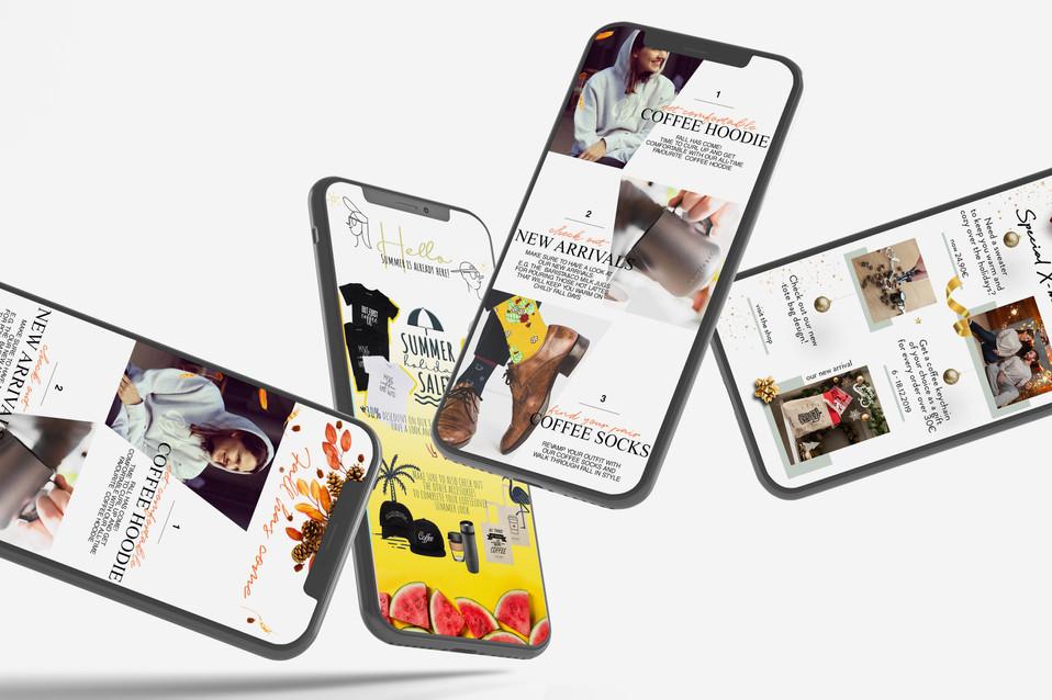 Dritan Alsela_Digital Content Design_E-Mail Templates_Newsletter Design