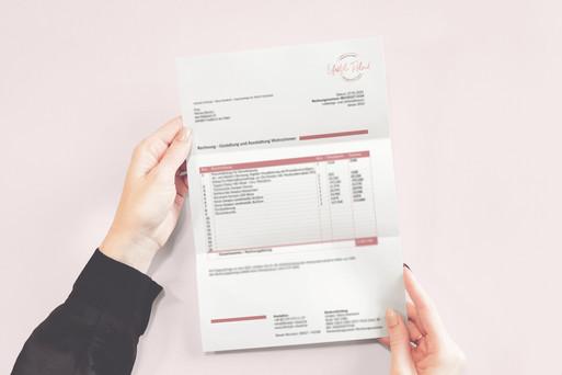 Briefpapier Design für für Lifestyle&Reload
