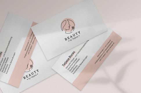 Visitenkarten für Beauty by Tatjana