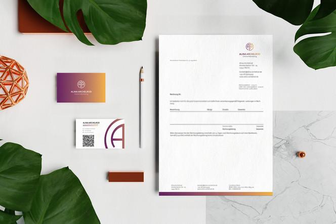 Alina Archelrod Corporate Design_Online