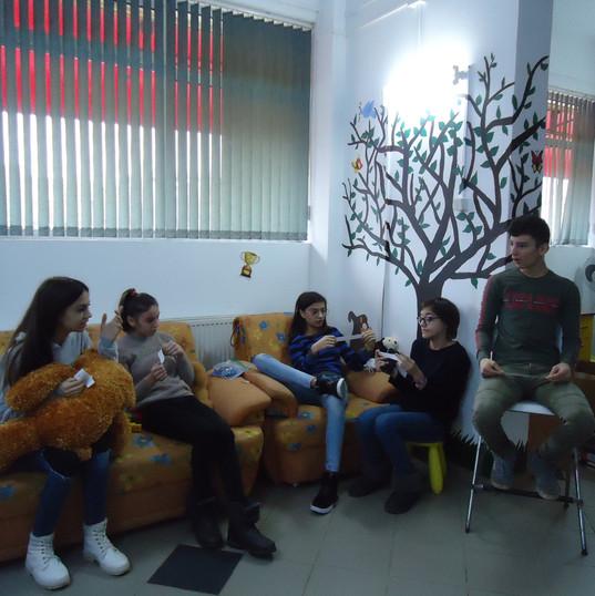 Teens Socialize