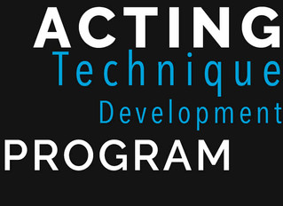 Acting Technique Development Program