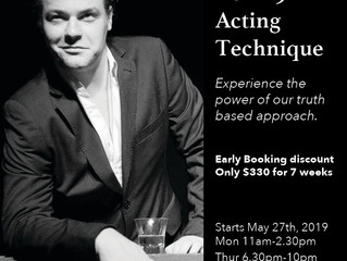 Term 3 Acting Technique Classes - The Actors Studio Australia