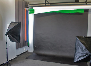 Upgraded photographic equipment in studio