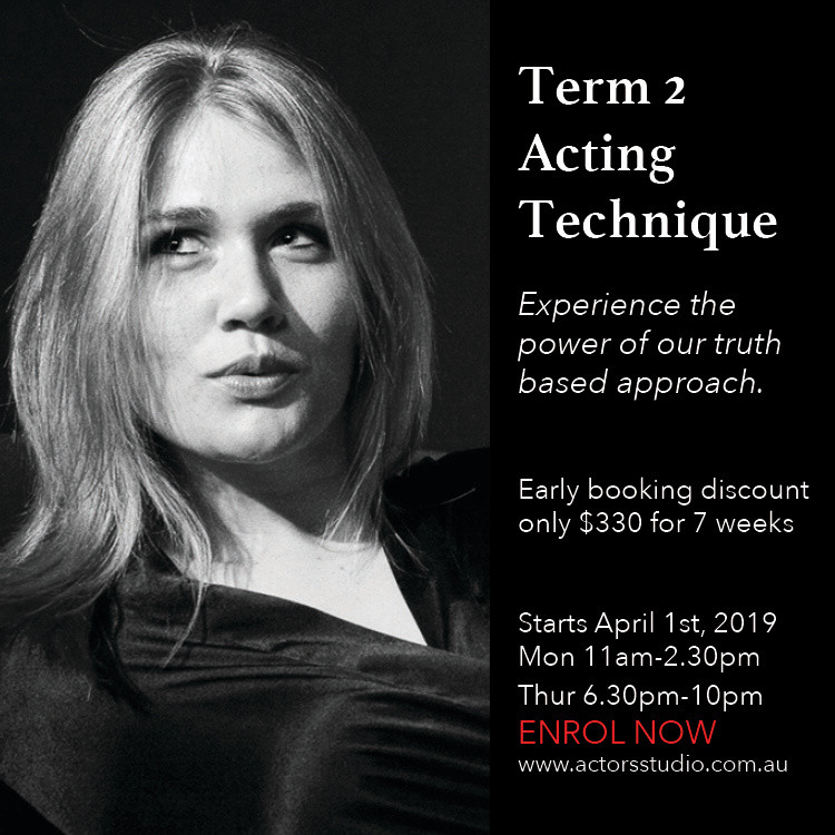 Acting courses in Sydney at The Actors Studio Australia