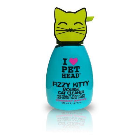 FIZZY KITTY - Mousse De Limpeza Para Gatos 200ml