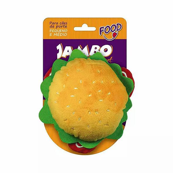 Brinquedo de Pelúcia Food HamburgerJambo