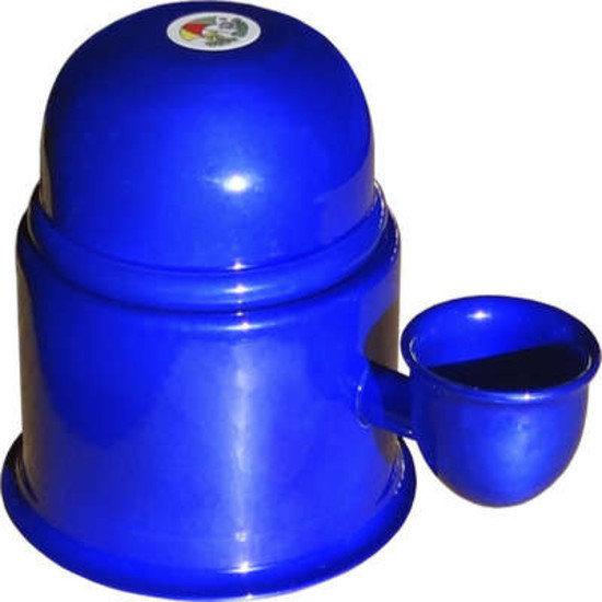 Bebedouro Vida Mansa Alumínio Azul Cobalto