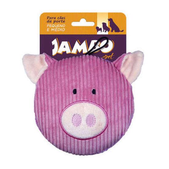 Mordedor de pelúcia Jambo - Porco