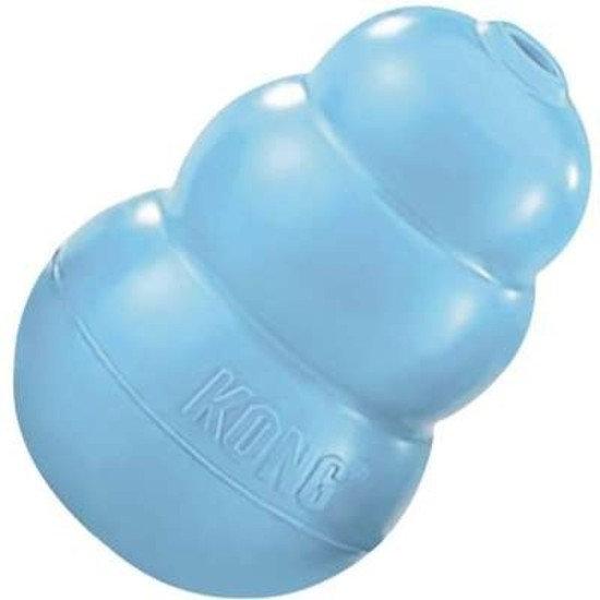 Brinquedo Interativo KONG Puppy com Dispenser de Ração ou Petisco para Filhotes