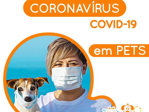 CORONAVÍRUS em PETS