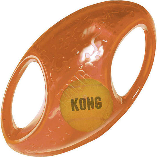 Brinquedo Interativo KONG JUMBLER FOOTBALL MEDIUM/LARGE