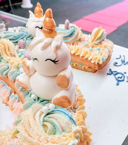 #unicorn letter cookie