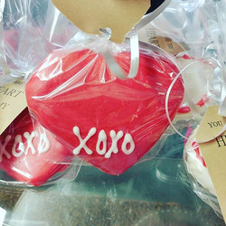 ❤the love CAKE cookies covered in Godiva