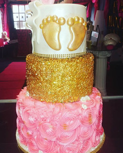 #golden feet Servings 75 Cake: all vanil