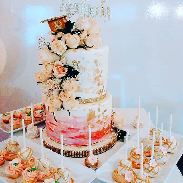 No fluff graduation  dessert table