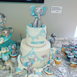 Elephant baby shower_Servings 50_Elephan
