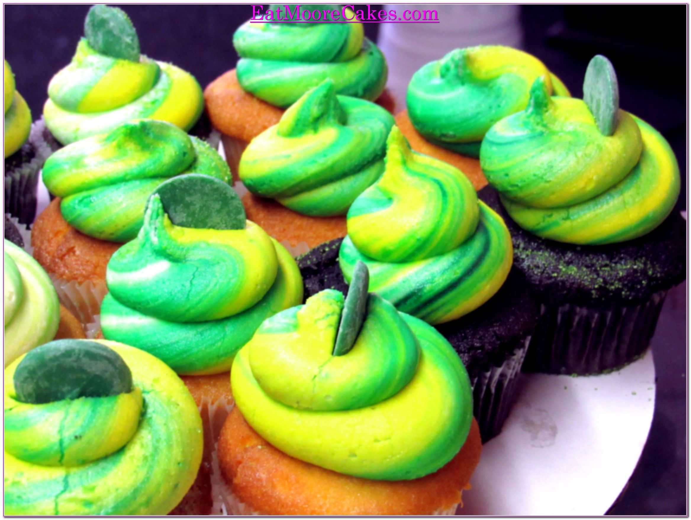 School color Cupcakes