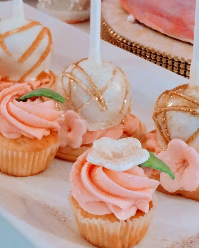😍Mini cupcake and cookie cake pop😍__To