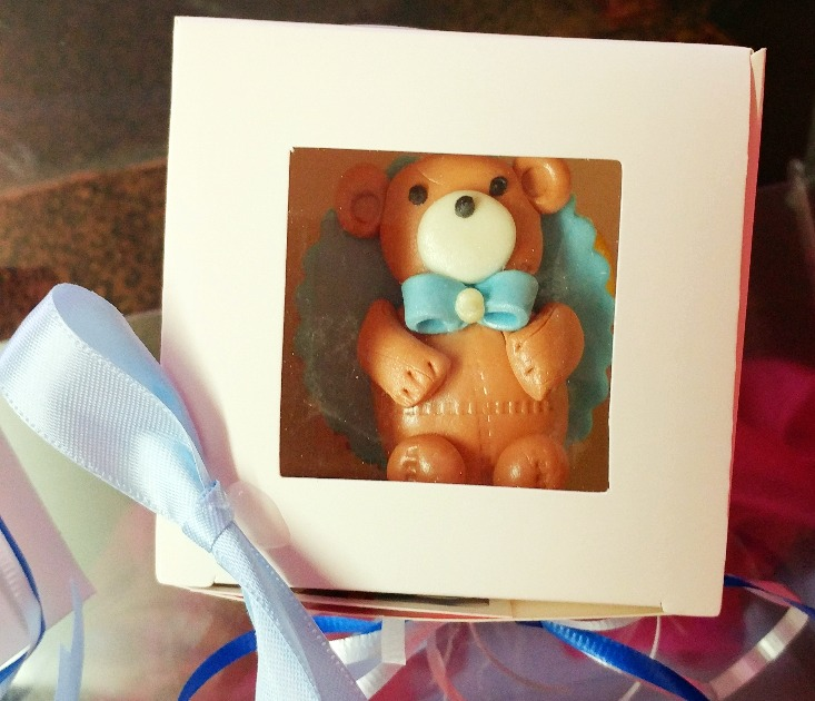 Bear Thank you gifts boxed and bowed