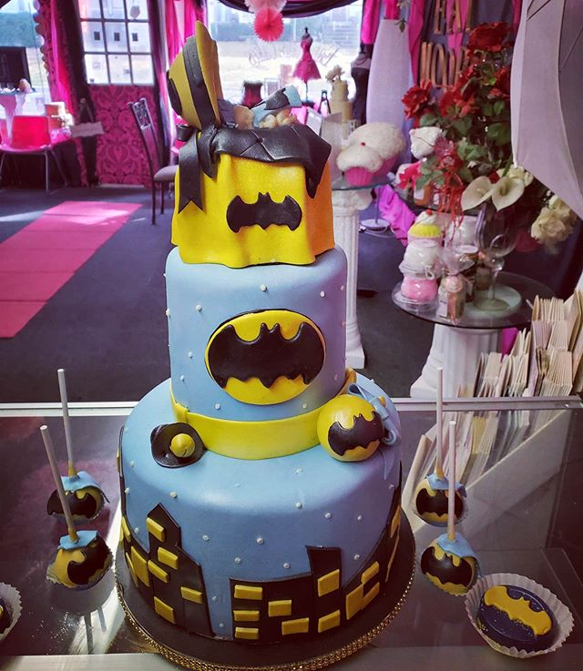 Baby batman__Ask about our custom cake t