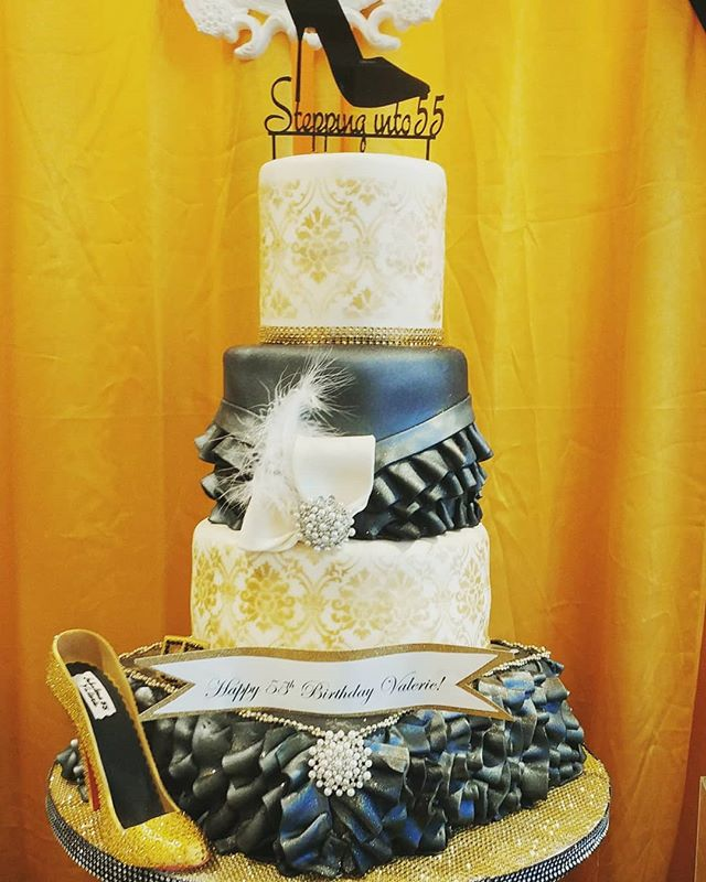 Stepping into 55__Servings-100__Cake- va