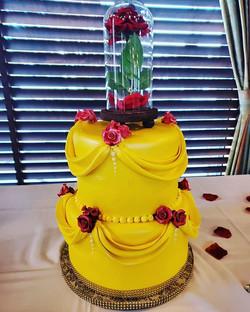 #beautyandthebeast_ #cake_#beautyandtheb