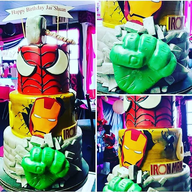Who's  your fav_  Spiderman, Hulk, or Ir