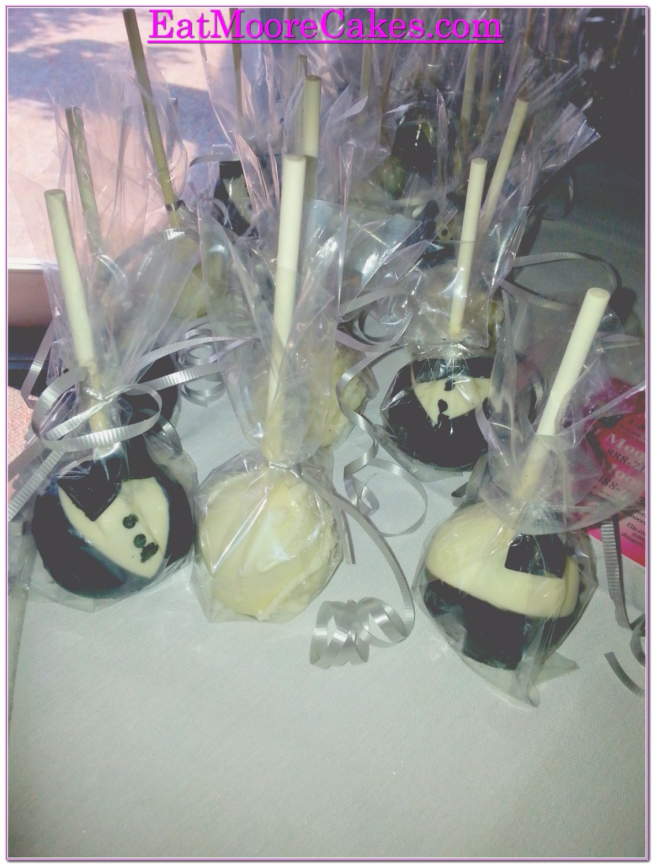 #wedding cake pops