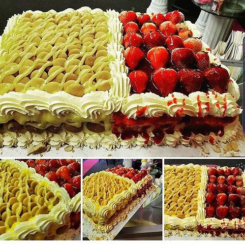 Banana Pudding / Strawberry Short Cake