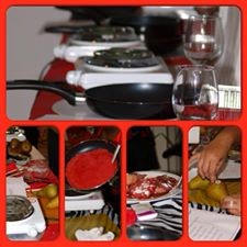 Cooking in Red stilettos