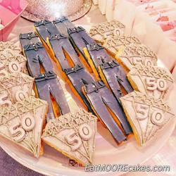 Denim and Diamonds_Denim jean Cookies an