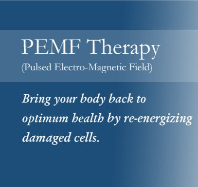 PEMF Therapy Session