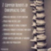 Benifits of Chiropractic