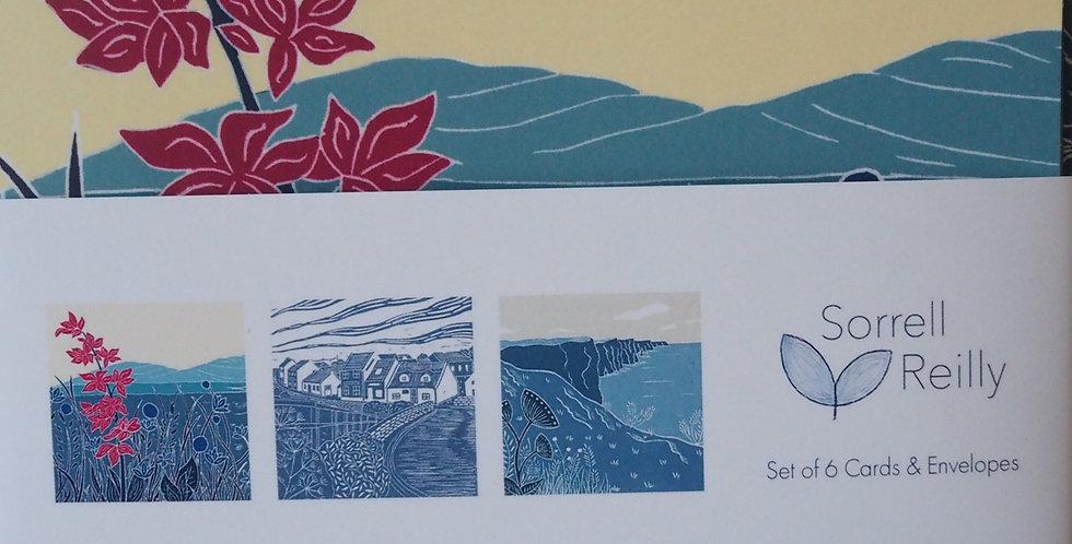 Irish Landscape Card Pack - Sorrel Reilly