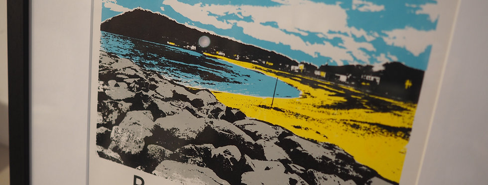 Limited edition hand pulled Screen print Bray-