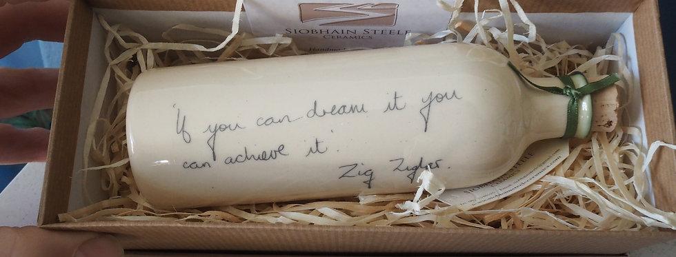 Message on a Bottle- Zig Ziglar