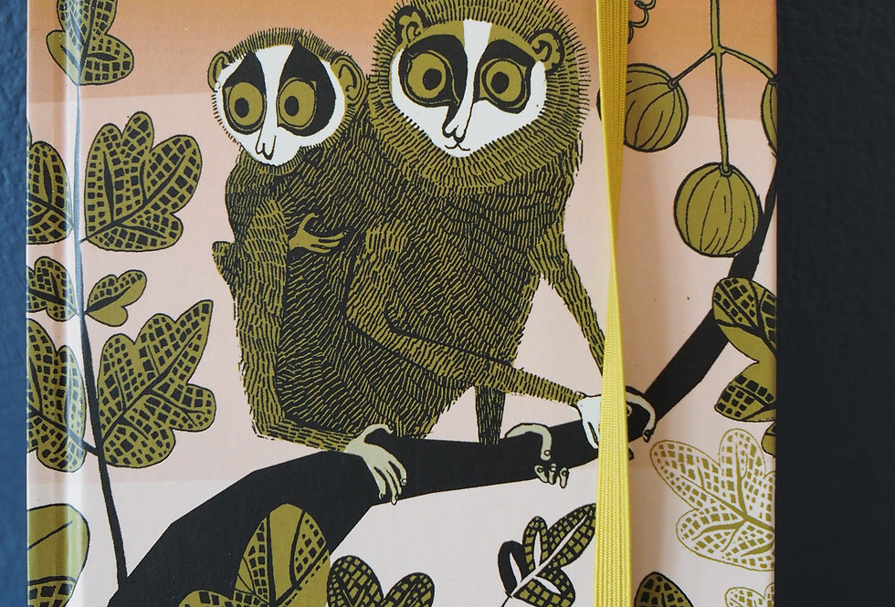 Small A6 Hardback Notebook Loris