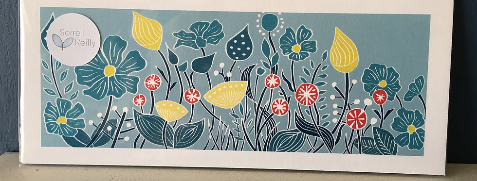 The Sun and Her Flowers- Wildflowers of the Burren Artist Print Sorell Reilly