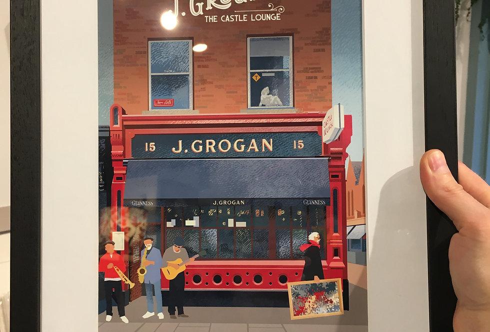 Grogan's Pubs of Dublin Series - Roger O Reilly