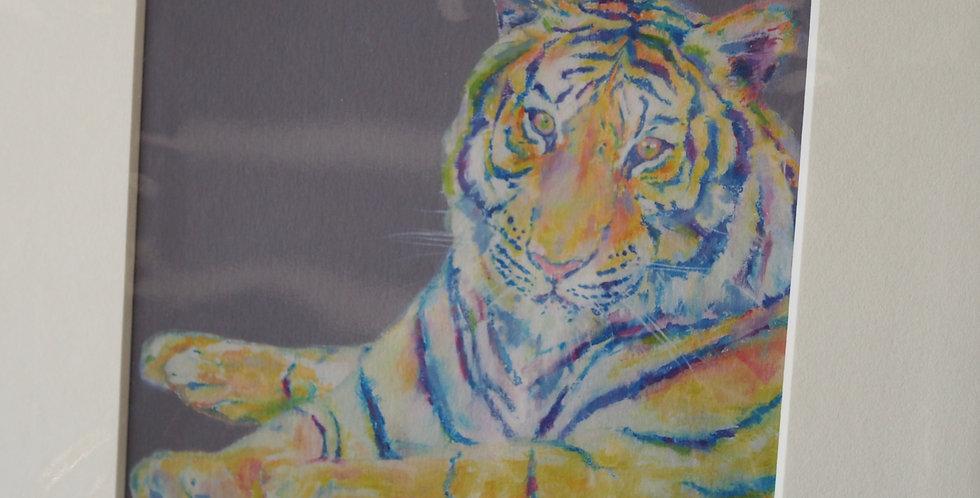 Be Yourself Tiger Irish Artist Limited Edition Print- Lorraine Fletcher
