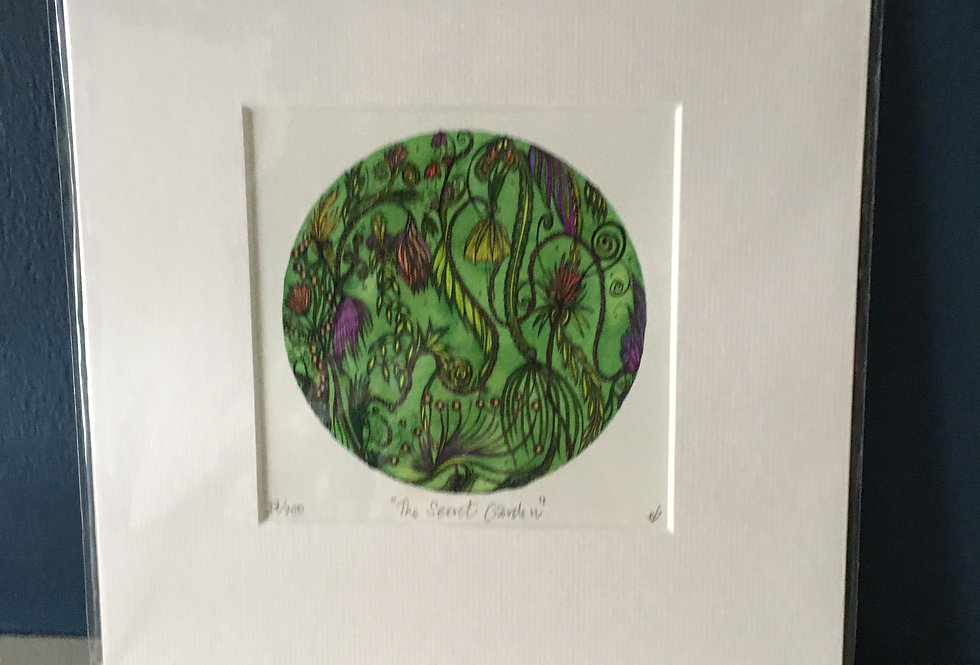 The Secret Garden- Signed and Limited Edition Artist Print- Eimear Brennan