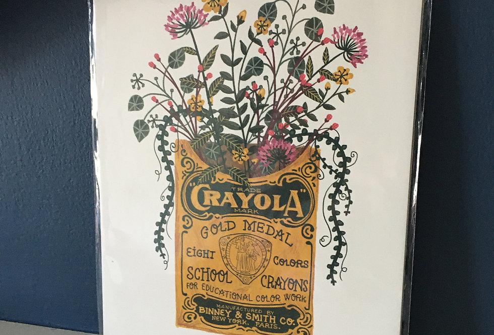 Botanical Bouquets- Crayola- Rachel Corcoran
