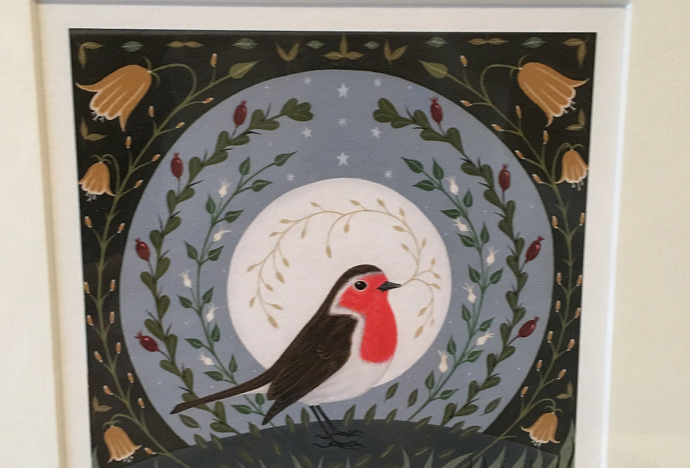 Robin Within Signed Limited Edition Artist Print- Orla Barry